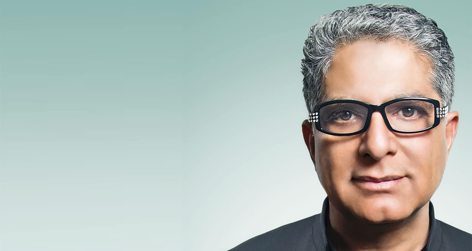 Deepak Chopra picture for the Deepak Chopra Healing Center