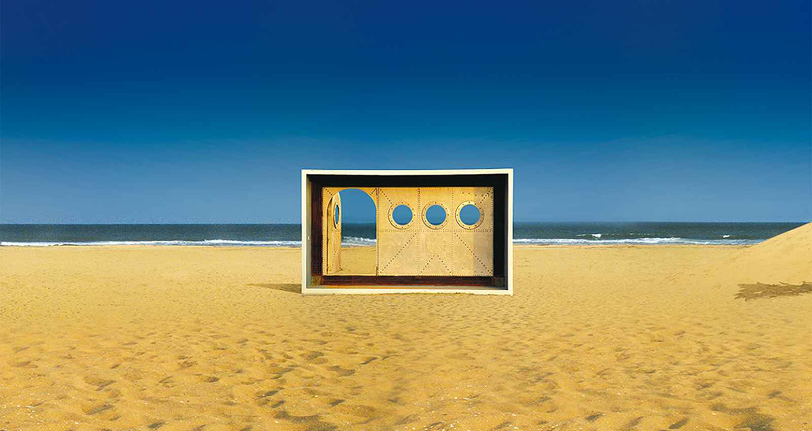 The door to the Lost Paradise : Dune Eco Village and Spa
