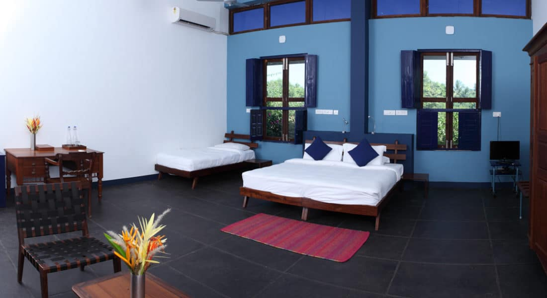 courtyard room 2 at Dune Eco Village and Spa near Puducherry