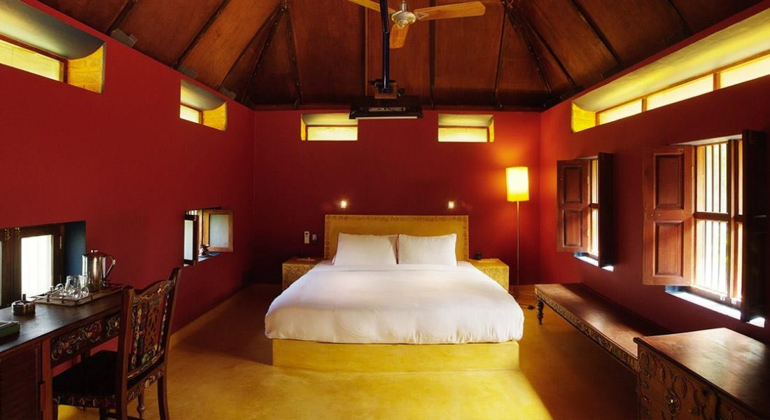 Dune eco village & spa - bangle-house - double bedroom