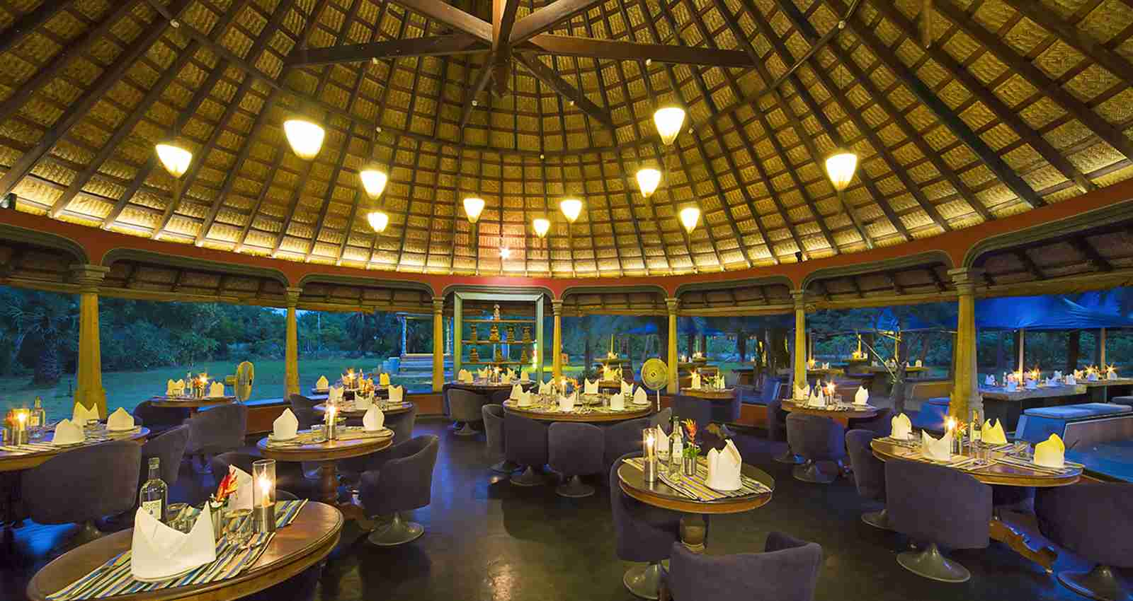Dune Eco Village and Spa FUN Restaurant Inside view