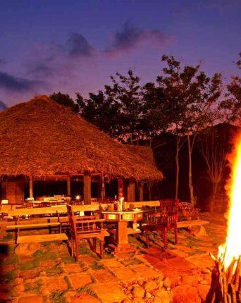 Elephant Valley Eco Farm Hotel Restaurant BonFire