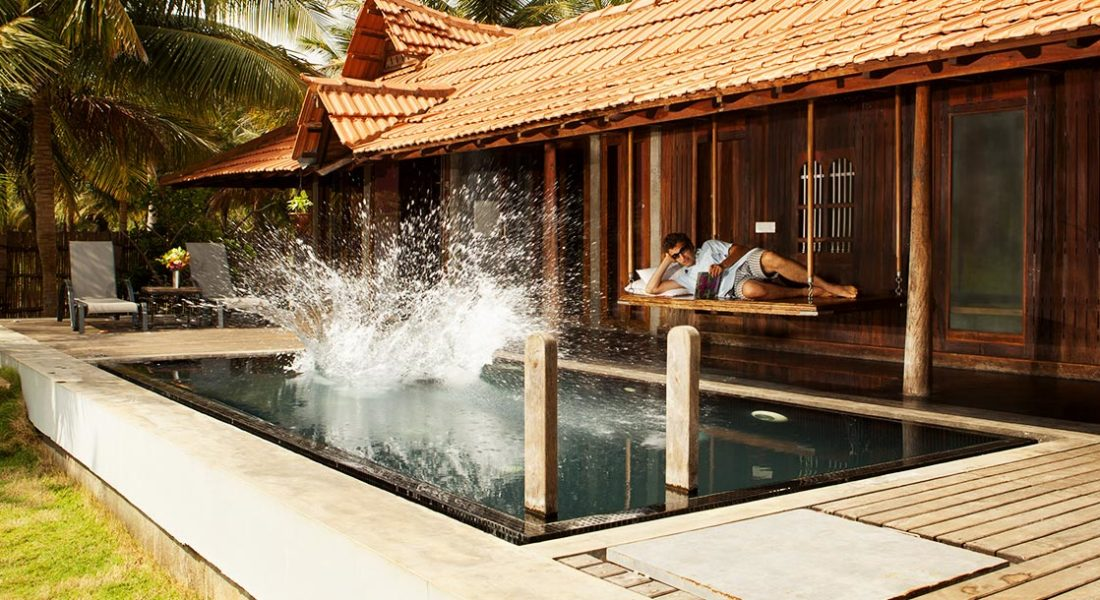 """Private swimming pool of Dune Eco Village Luxury Suite """"Pool house"""""""