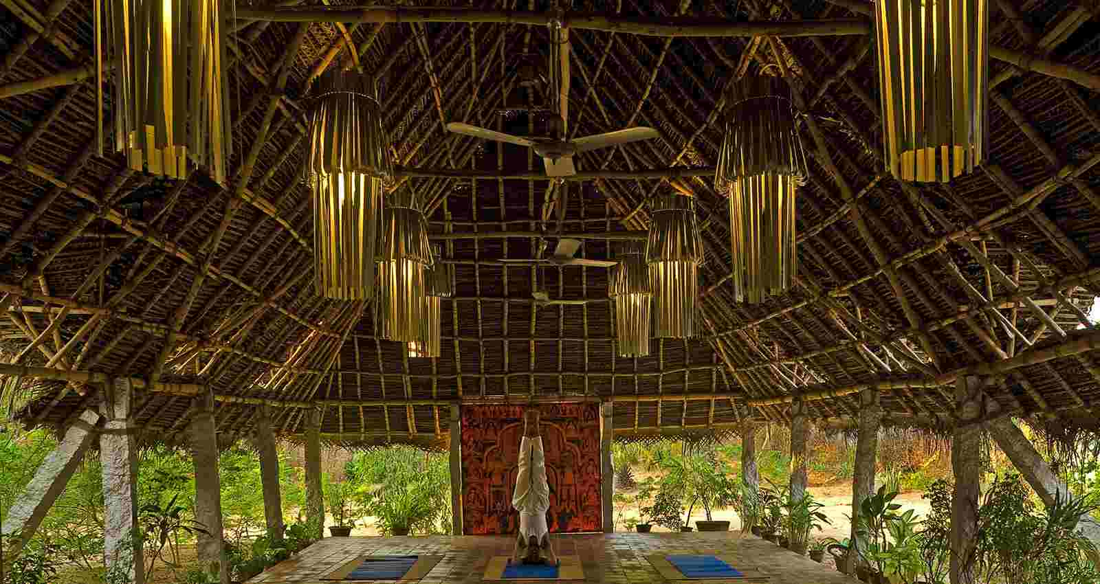 View Of The Yoga Hall at Dune Eco Village & spa