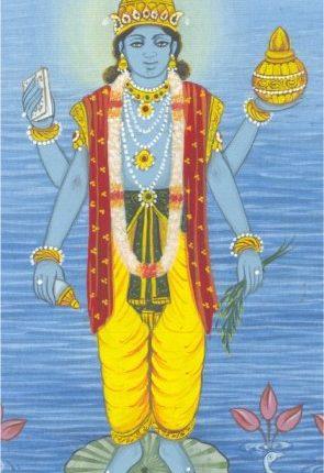 Dhanvantari, La Divinité Associée à L'ayurveda, Godofayurveda