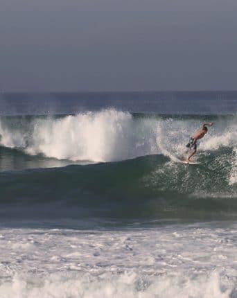 Surfing the wave in Sri lanka