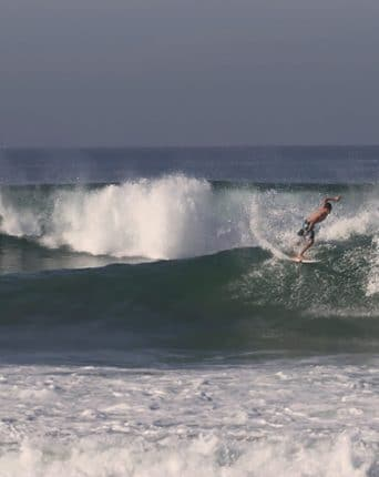Surfing the wave in Sri lanka